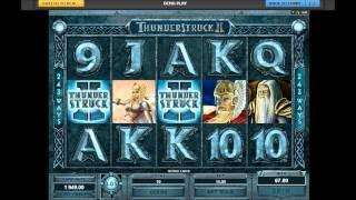 NetEnt Thunderstruck II Video Slots - Action Packed Slot