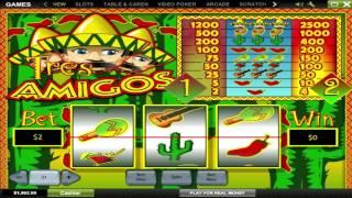 Tres Amigos ™ Free Slots Machine Game Preview By Slotozilla.com