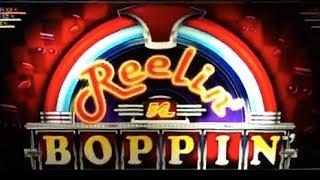 Reelin' n Boppin   Aristocrat - BIG WIN! Slot Bonus Feature (20 FREE SPINS)