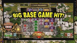 BIG Base Game Hit on Bonanza - £1 Bet