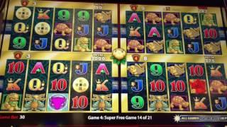 5 Dragons Deluxe Slot Machine ~ WONDER $ ~ FREE SPIN BONUS! ~ SUPER SPINS! • DJ BIZICK'S SLOT CHANNE