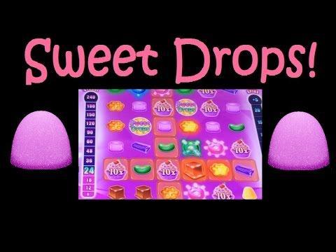 SLOT MACHINE BONUS! Sweet Drops Live Play and Bonus Trigger Win! ~ DProxima