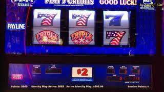 Free Play $1,000•Triple Double Star $2 Slot Max Bet $6 (Denom) Cosmopolitan Las Vegas, Akafujislot