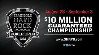 Seminole Hard Rock Poker Open 100k Super High Roller No Limit Hold'em
