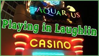 LIVE Play at Aquarius in Laughlin NV • Orbs of Fire, Dragon Spin, Towerstack Panda+ • Slot Machines