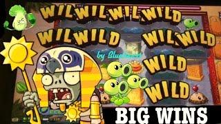 •BIG WINS• PLANTS vs ZOMBIES 3D slot machine max bet BIG WIN BONUSES!
