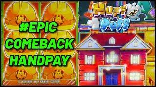 HIGH LIMIT Lock It Link Huff N' Puff HANDPAY JACKPOT ⋆ Slots ⋆ $50 Bonus Round Slot Machine EPIC COM