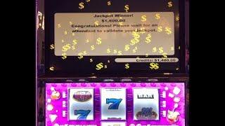 """CRAZY CHERRY WILD FRENZY"" VGT Slots Jackpot Videos -JUST KEPT HITTING Choctaw Casino Session"