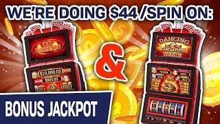 ⋆ Slots ⋆ Big $44 SPINS on 88 Fortunes AND Dancing Drums ⋆ Slots ⋆ BIG-BUCKS RAJA Is BACK