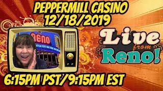 Live Slot Play at the Peppermill Casino!