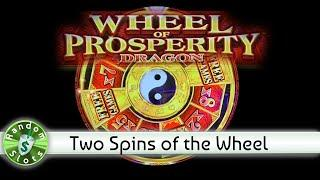 Wheel of Prosperity slot machine, 2 Spins of the Wheel
