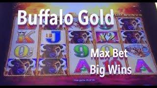 BUFFALO GOLD: Max Bet Big Wins - slot machine bonus wins