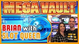•MEGA VAULT with Slot Queen • at Red Hawk Casino • Brian Christopher Slots