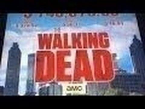 THE WALKING DEAD SLOT MACHINE BONUS-with Boots at Cosmo