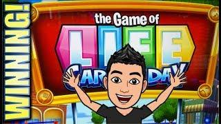 •FIRST ATTEMPT!• THE GAME OF LIFE - CAREER DAY | COME ON RETIREMENT! Slot Machine Bonus (SG)