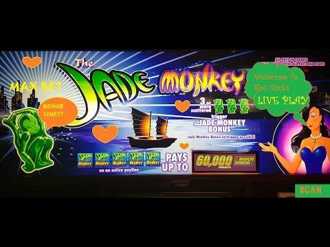 Handpay Jade Monkey Slot Machine Live Play