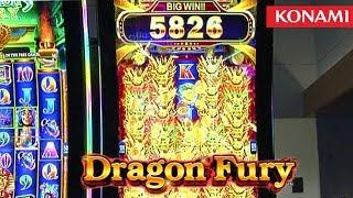 Dragon Fury Slot Machine from Konami