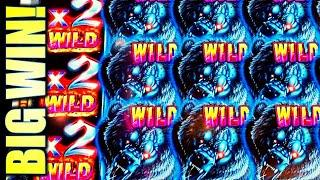 •BIG WIN!! BEAR-TASTIC FULL SCREEN WILDS X2!• • BEAR RUMBLE RUMBLE Slot Machine Bonus (AINSWORTH)