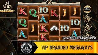 VIP Branded Megaways slot by 1X2 Network
