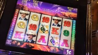 RAWHIDE Low Wager Slot Machine