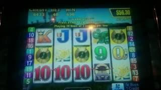 Aristocrat Golden Gong Slot Machine Bonus
