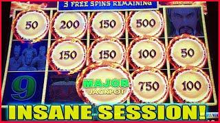 OMG I LANDED THE MAJOR JACKPOT! INSANE SESSION HUGE WINS