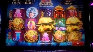 **NORTHERN TREASURE** Slot Machine ** BONUS WIN**