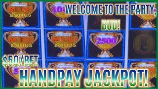 HANDPAY JACKPOT on HIGH LIMIT Lightning Link Best Bet ⋆ Slots ⋆️$50 Bonus Round Slot Machine Casino