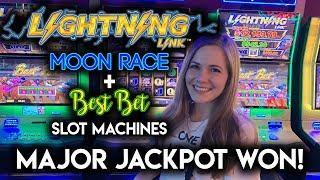 First MAJOR JACKPOT!! Lightning Link Slot Machine!! HUGE WIN!!