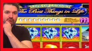 EVER FILL UP THE DIAMOND METER? I DID! Best Things In Life Slot Machine BONUSES • LIFE OF LUXURY