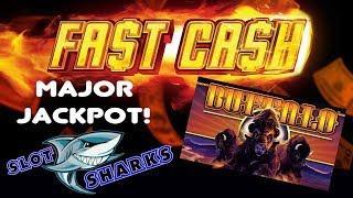 • Major Jackpot • on Buffalo Fast Cash & Bonus Win !