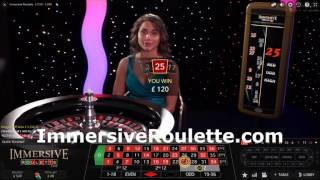 26th Feb Immersive Roulette £100 Start
