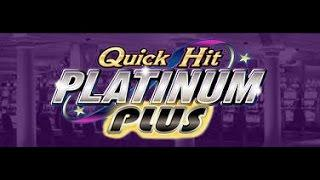 Quick Hit Platinum Plus - LIVE PLAY AND BONUSES + Monopoly Jackpot Station Big Win