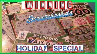 •Special Holiday.•...All Winners Show....•.Scratchcard George.•..Scratchcard Winners..mmmmmmMM•