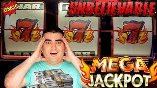 High Limit 3 Reel Slot Machine MASSIVE HANDPAY JACKPOT | Slot Machine Mega Jackpot | SE-5 | EP-14