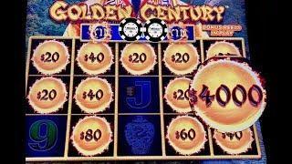 3K SUBSCRIBERS SPECIAL ~ DRAGON LINK GOLDEN CENTURY MASSIVE HANDPAYS