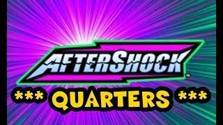 WMS - Aftershock - Quarters *** BIG WIN ***