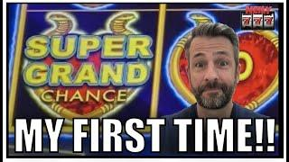 Bucket List item COMPLETED!! Super Grand Chance on Dollar Storm Slot Machine!