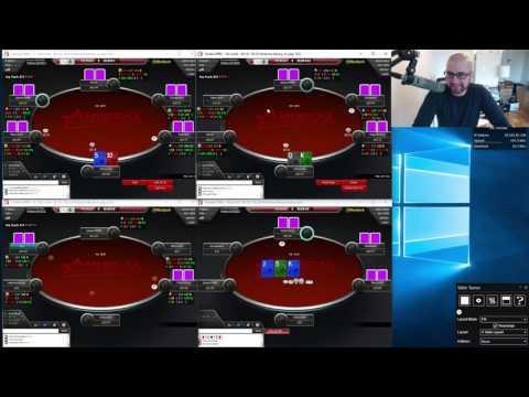Texas Holdem Poker 25NL 6-Max Session on ACR