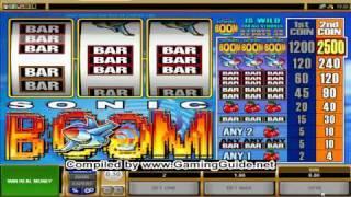 All Slots Casino's Sonic Boom Classic Slots