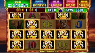 MRS CASHMAN CASH SAFARI MOONLIGHT Video Slot Casino Game with a MIGHTY CASH BONUS