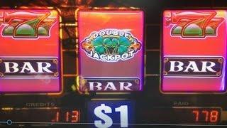 "BIG WIN ""SHAMROCK"" Dollar Slot Machine 9 Lines Max Bet $9 First attempt!! EVERI at Barona Casino"