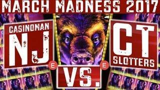 March Madness 2017 - (EAST Coast Round #1) - Slot Machine Tournament - Slot Machine Bonus