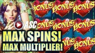 •BIG WIN!• ENCHANTED DREAM (BALLY) | MAX SPINS! MAX MULTIPLIER! Slot Machine Bonus