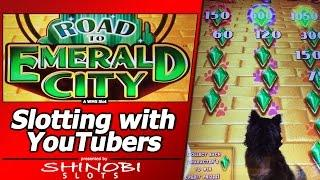 Road To Emerald City Slot - w/guests Albert's Slot Channel & Diana Evoni, Live Play and Bonuses