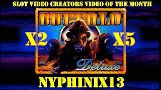 Slot Video Creators' Video of the Month - Aristocrat: Buffalo Deluxe