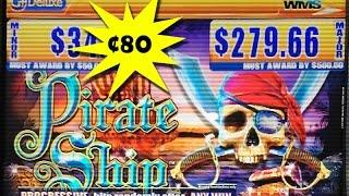 Pirate Ship Slot Machine ~ Bonus Win