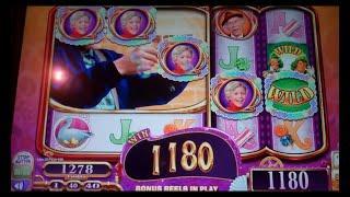 Willy Wonka Slot Machine Bonus - Charlie Free Spins Win
