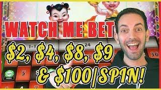 •  $100 on Roulette + High Limit Bonuses++ • • Slot Machine Pokies w Brian Christopher