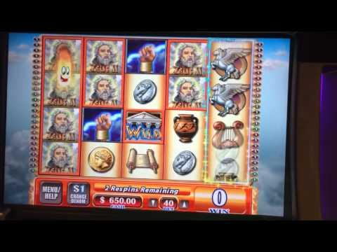 Zeus 3 high limit slots bonus